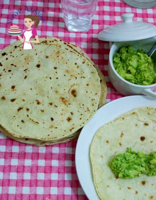Easy Homemade Healthy Flour Tortilla Recipe