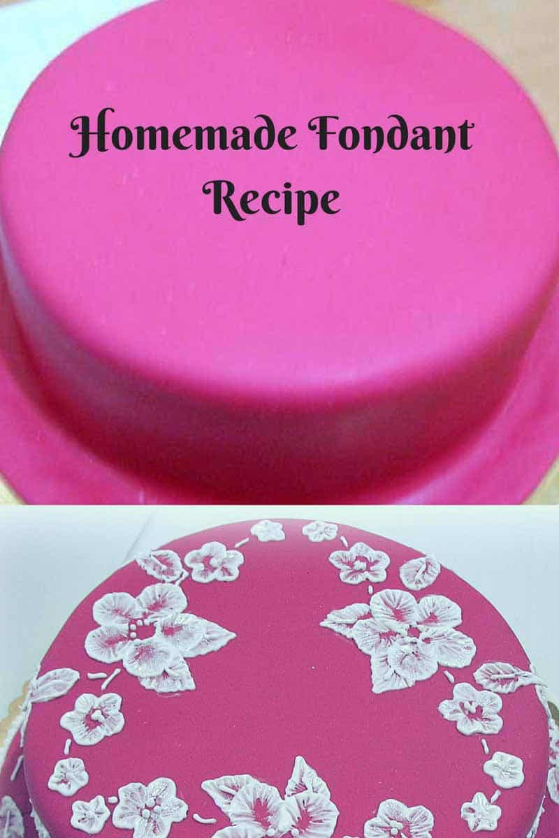 The Best Homemade Fondant Recipe – from Scratch