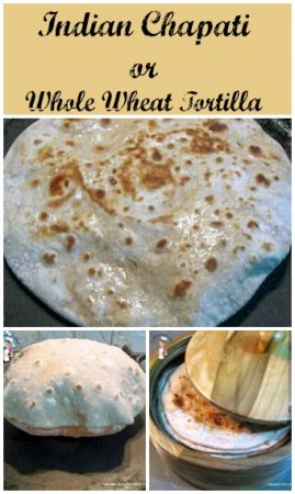 Indian Chapati or Whole Wheat Tortilla
