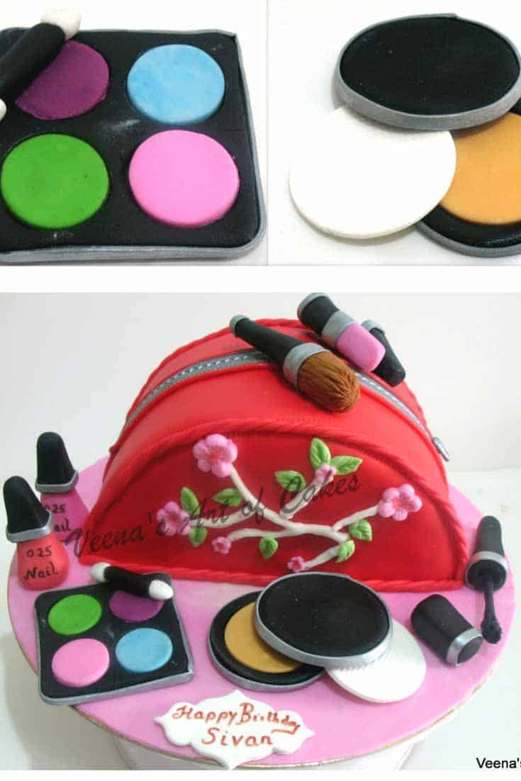 A make up bag or cupcakes is a great birthday, celebration or just get well gift for any lady to bring a big smile. Simple easy to make and a little attention to details is all it takes.