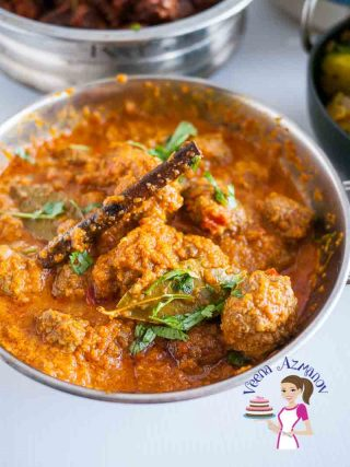 Indian Meatball Curry