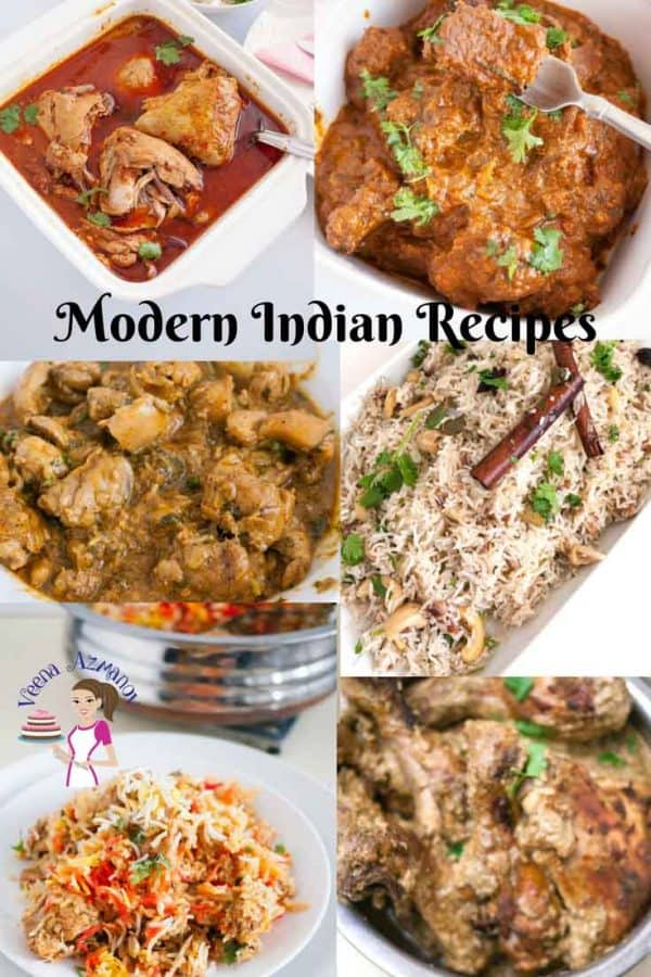 Modern Indian Recipes from Curries to rice and desserts