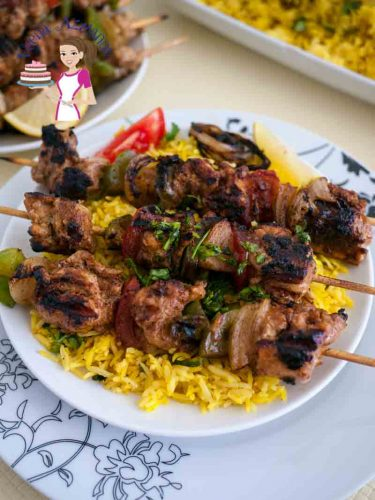 Weather you call these Moroccan Chicken Skewers or just Chicken Kebabs these are a must try recipe for grilled chicken. Packed with Middle Eastern flavor such as cumin, cinnamon and turmeric these make an absolute treat served with rice or just pita bread and tahina.