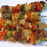 Moroccan Spiced Chicken Skewers