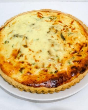 How to make a Savory tart with