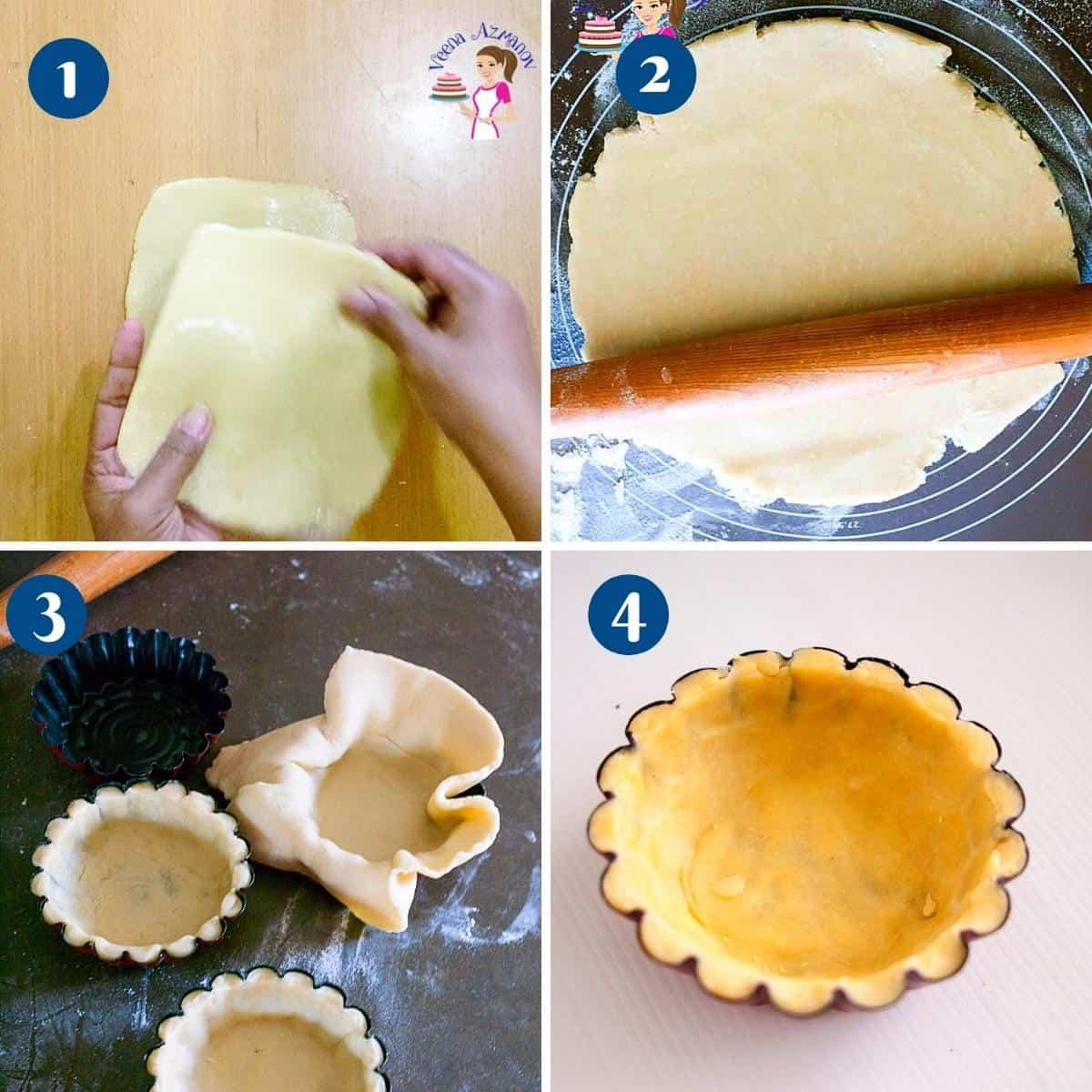 Progress Pictures - Tartlet Shells Method 3 alternate method.