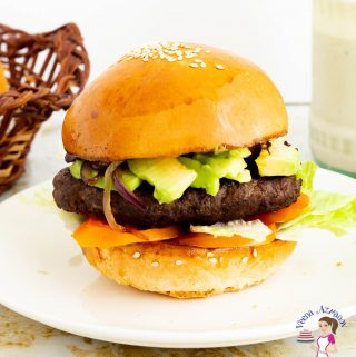 How to make burgers at home with ground beef and kebab marinade