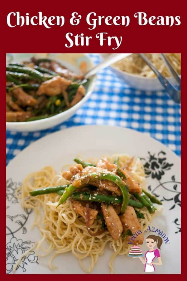 This chicken green beans stir fry is better than any takeaway. Get ready in less than 15 minutes. Is healthier and more nutritious than restaurant meals.