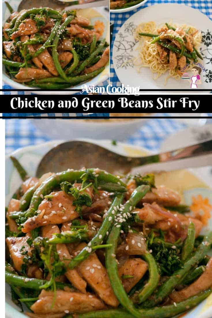 Chicken green beans stir fry healthy asian cooking veena azmanov forumfinder Gallery