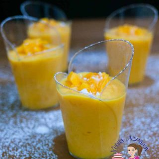 How to Make Homemade Mousse with Mangoes in Summer