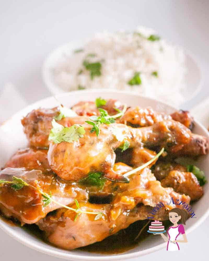 Best baked chicken legs marinated with honey and mustard.