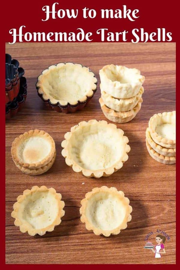 This is how you make Homemade Mini Tart Shells. A step by step video tutorial. Homemade Mini Tartlets