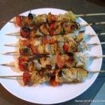 Murg Malai Kebab, Creamy Indian Chicken Skewers