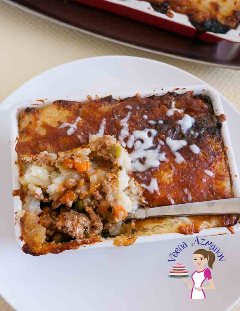 Shepherd's Pie Simplified aka Meat Pie with Mashed Potatoes
