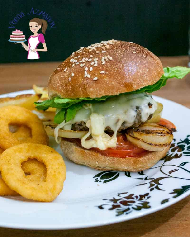 Spiced Homemade Beef Burger Recipe