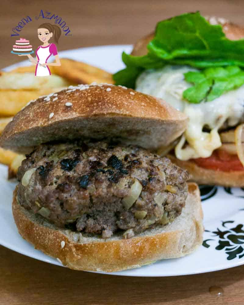 A good homemade burger should be simple, easy and less complicated. This spiced homemade beef burger is just that! The spices add a fun twist to the regular burger and serving it over my soft whole wheat burger buns makes it more nutritious and hearty.