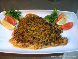 Baked Fish Fillet