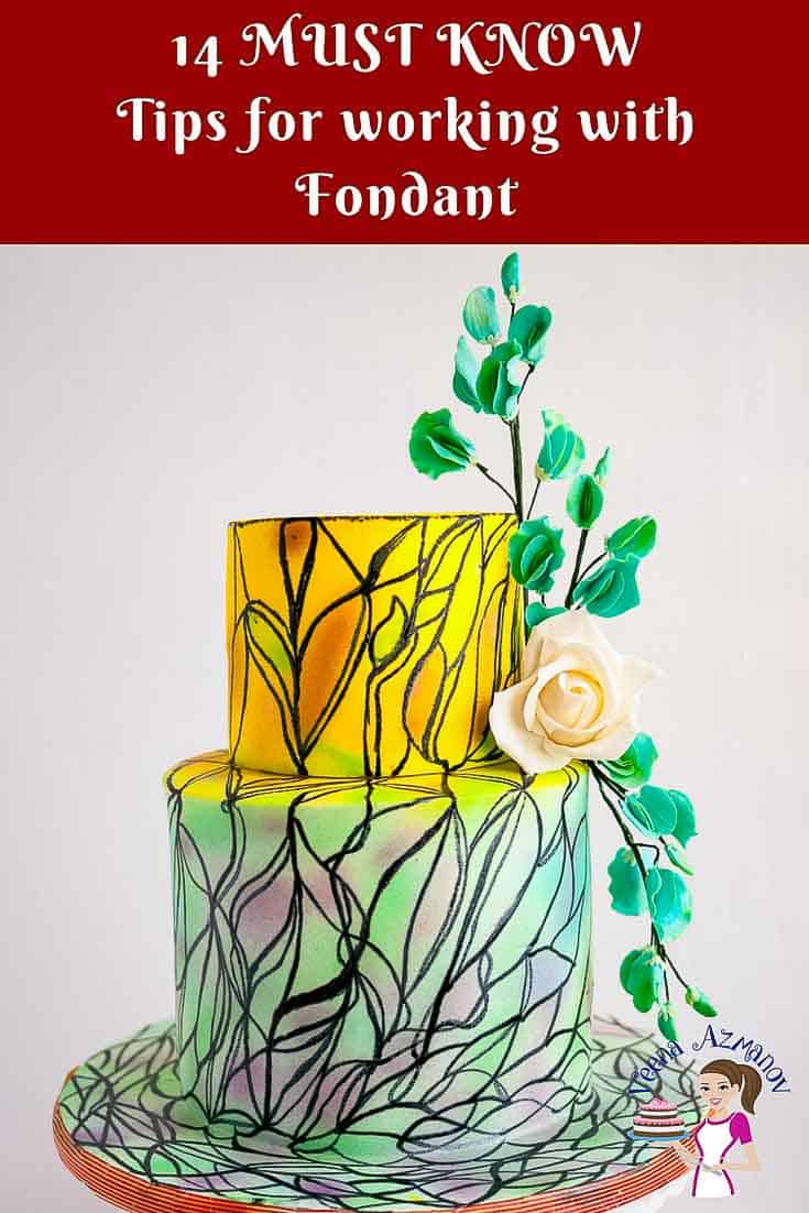 An Image Optimized for Social Sharing this article 14 Must Know Tips for working with Fondant, a great resource for anyone wanted to learn cake decorating or working with Fondant