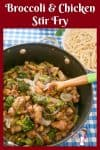 This Broccoli and Chicken stir fry with noodles is better than takeaway and gets done in less than 15 minutes. Plus it's much more healthier and nutritious.