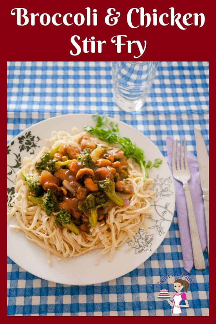 This Broccoli and Chicken stir fry with noodles is better than a takeaway and gets done in less than 15 minutes. Plus it's much healthier and nutritious.