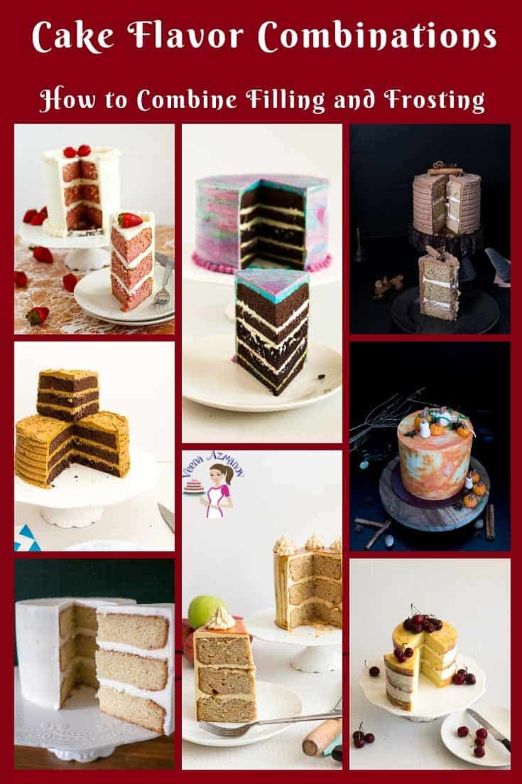 Cake Flavor Combinations - How to combine cake flavors, fillings and frostings