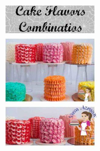 Cake Flavor Combinations