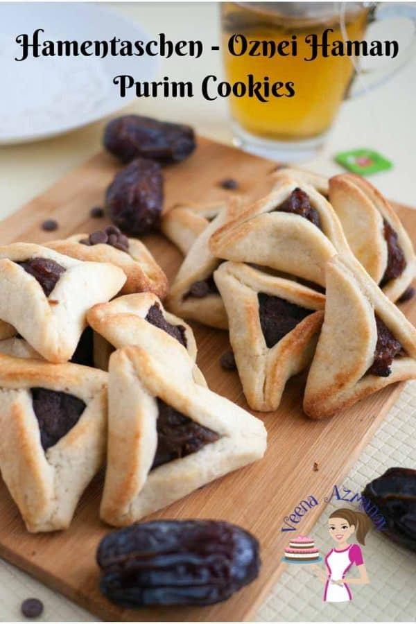 Hamentaschen Cookies are a special treat during the Jewish Purim festival with hundreds of choices of fillings from traditional poppy seed and dates to modern chocolate, dulce de leche and more.
