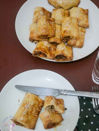Meat stuffed Puff Pastry – Meat Puffs