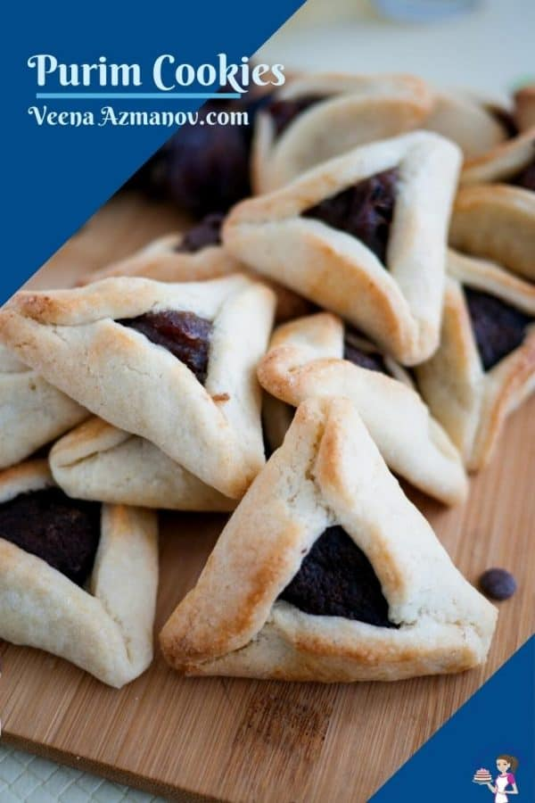 Date purim cookies Pinterest image