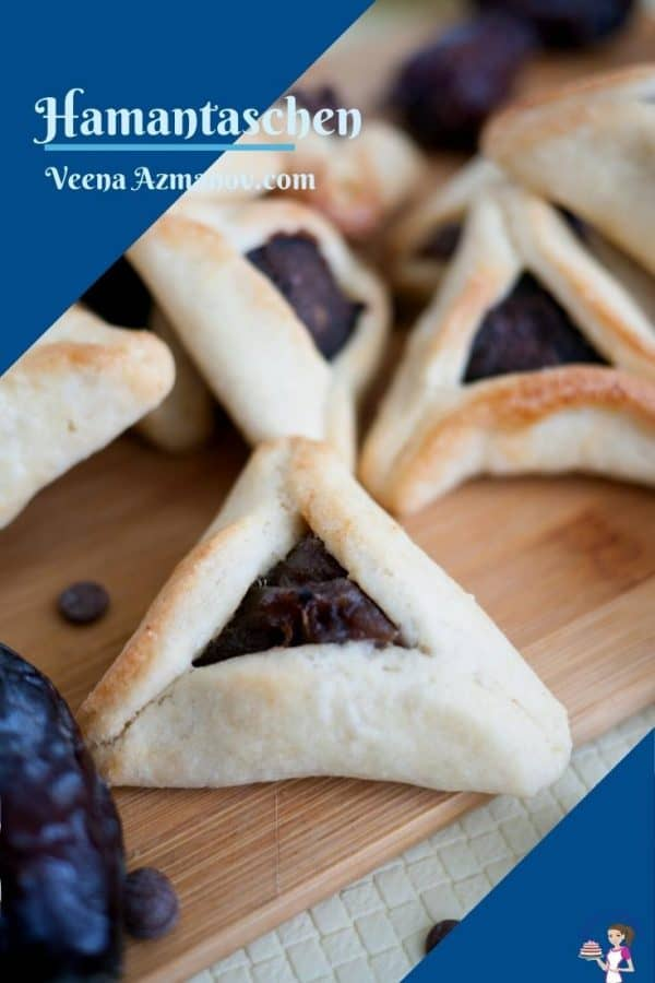 Pinterest image for hamantaschen cookies
