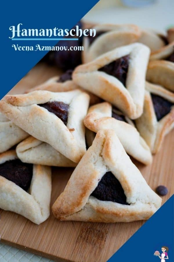 Pinterest image for hamentaschen cookies