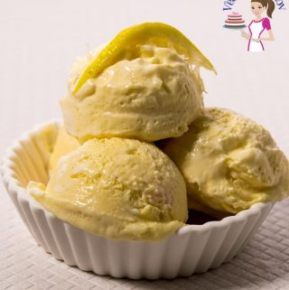 Lemon ice cream - no churn 3 ingredients