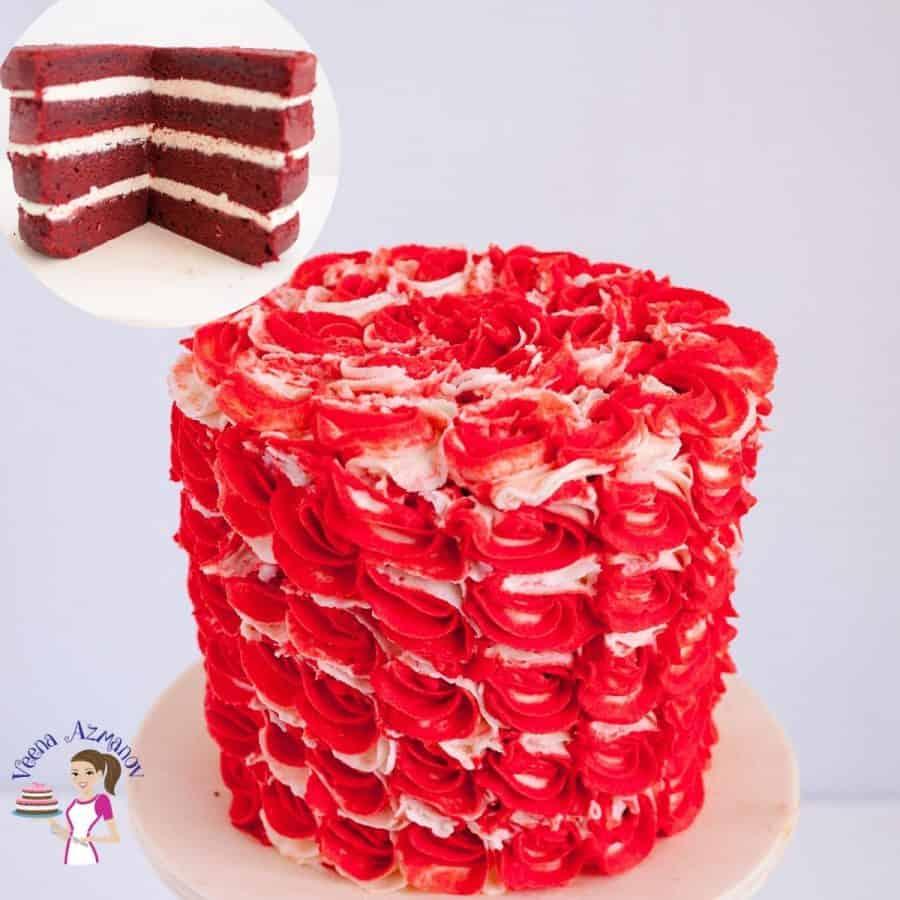 Homemade Cake Recipe Red Velvet and IMBC
