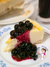 Blueberry cheesecake is the ultimate classic and most loved of all cheesecakes but now you can make them anytime of the year thanks to frozen blueberries.
