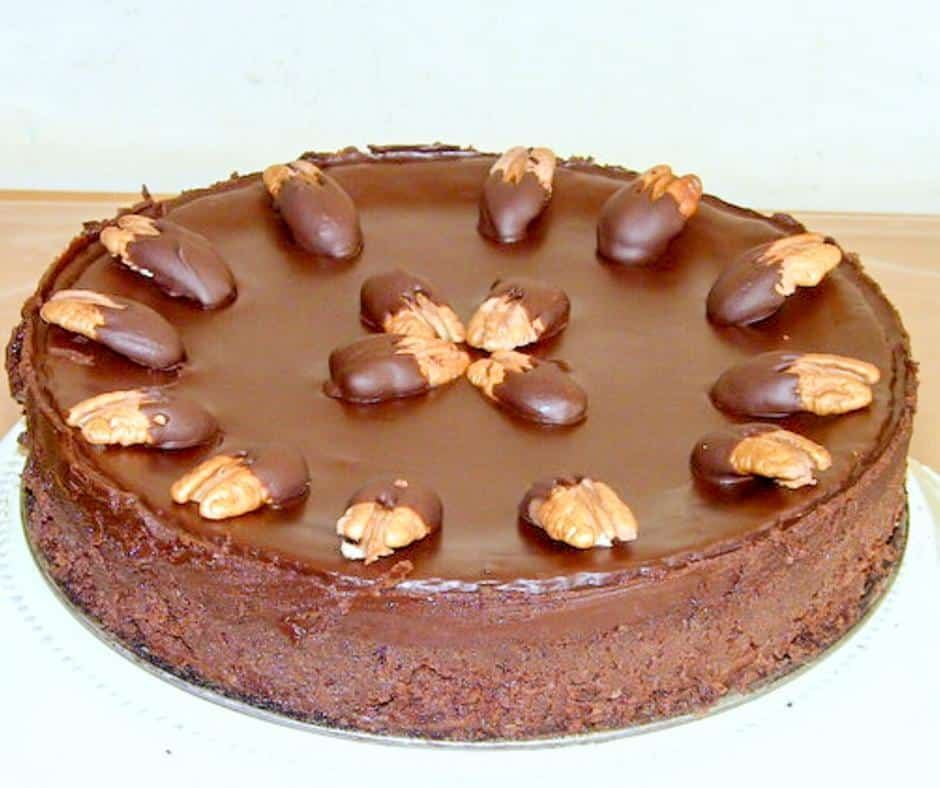 How to make a Homemade Chocolate Cake with Pecan Meal, Gluten Free