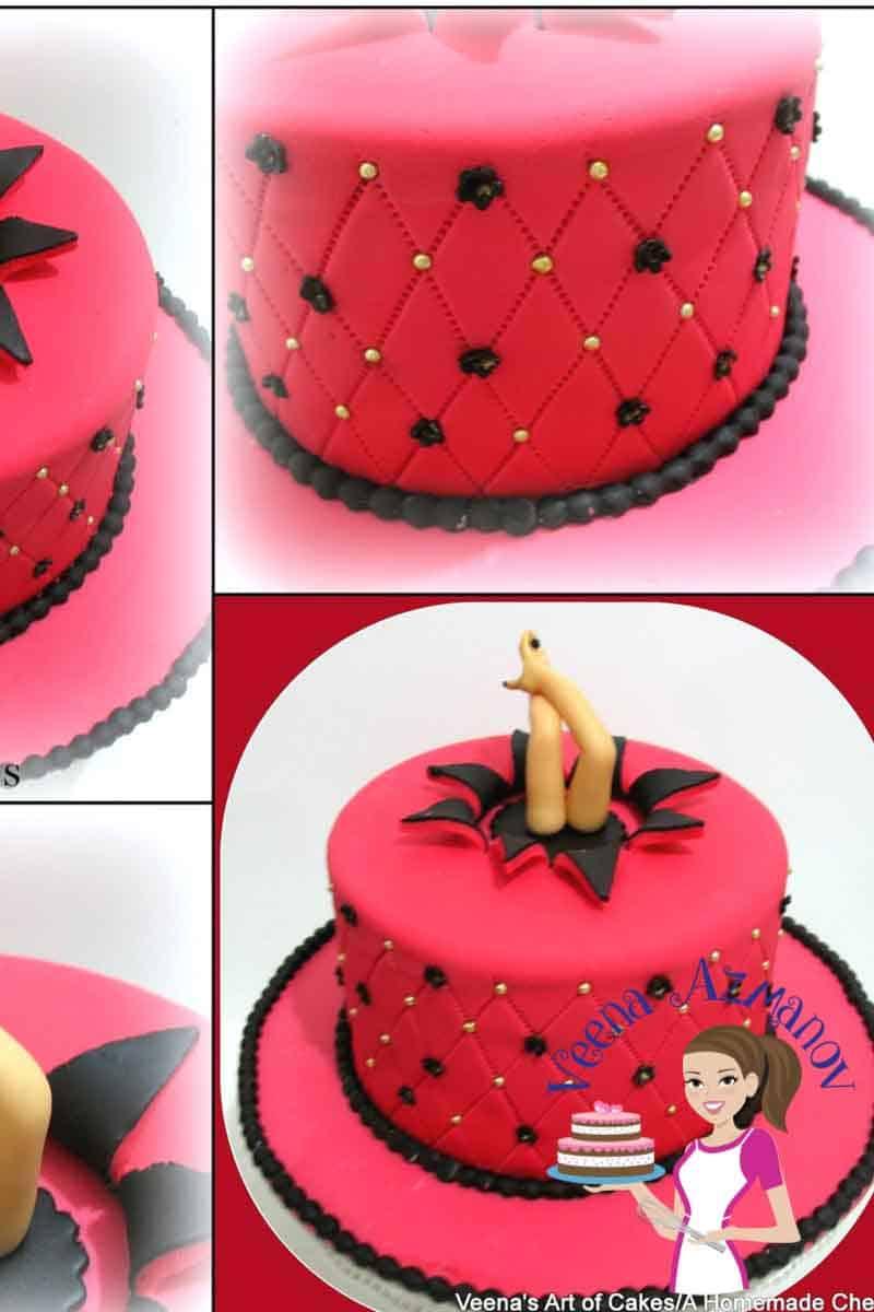 How to make a Star Burst Cake