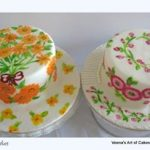 Some Hand Painted Cakes