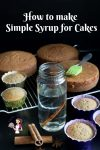 Making homemade simple syrup is easier than you think. Learn to flavor it, enrich it, change the ratio and use it for cakes.