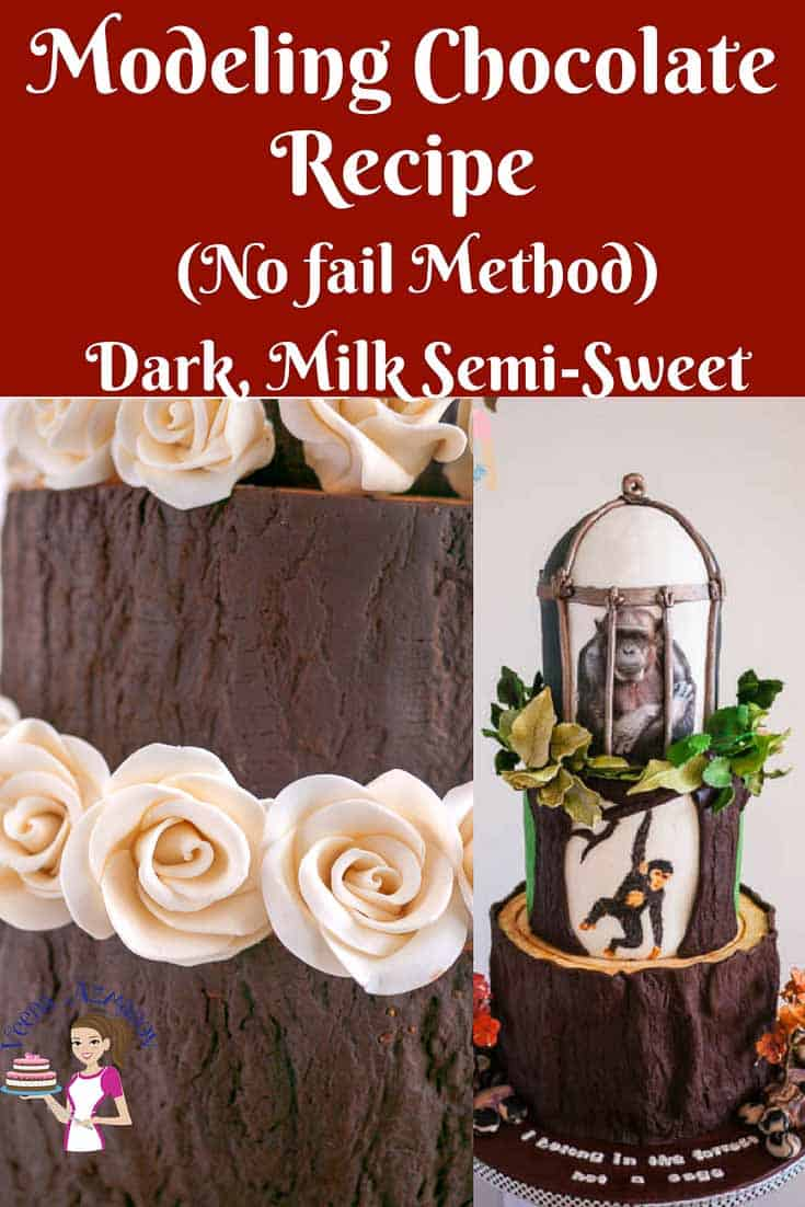 Modeling Chocolate Recipe Candy Clay Dark Milk Or Semi Sweet