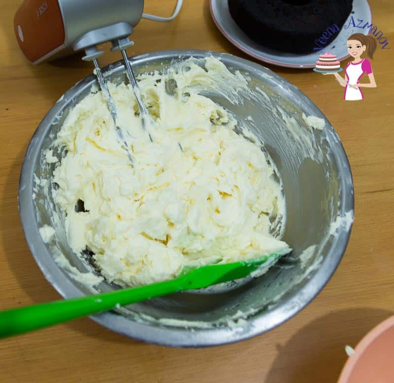 Making buttercream