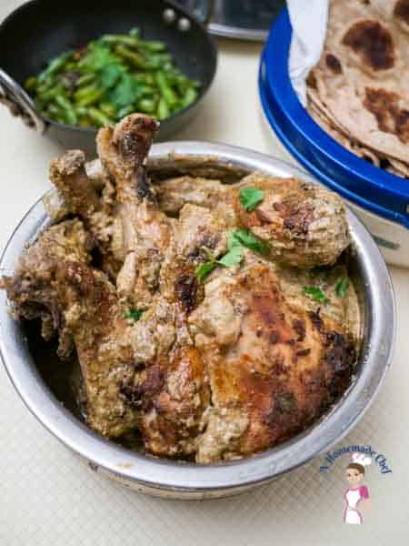 Baked Indian Chicken Just 10 Mins Prep Time Veena Azmanov