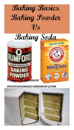Baking Basics – Baking Powder Vs Baking Soda