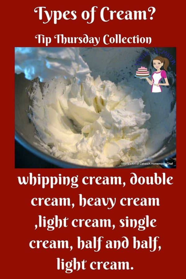 No matter what types of creams you use, weather it's in a bowl over fresh strawberries or whipped into the dessert to create something more indulgent, cream in all forms is a luxury to have. This simple and easy Tip Thursday will demystify this comfort food with endless possibilities exploring it's uses from savory to sweet dishes.