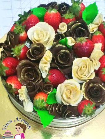 Modeling Chocolate Roses – Four Different methods