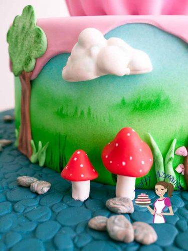 Giant Cupcake Cake (18)