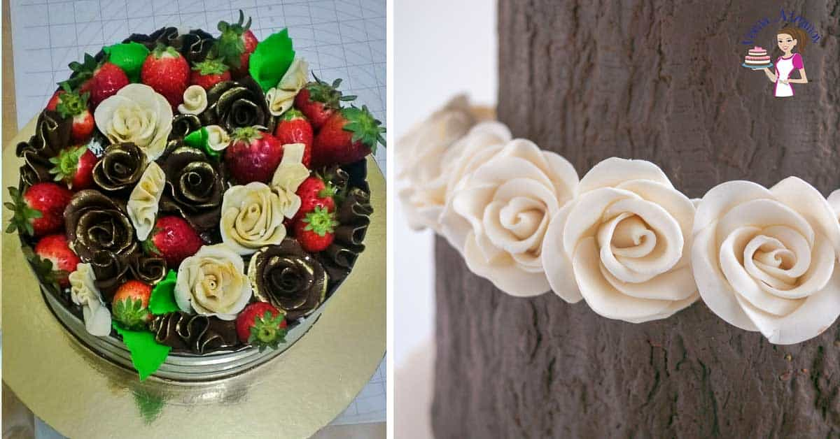 Modeling Chocolate Roses Four Different Methods Veena