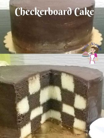 How to make a Checkerboard Cake – Cake Decorating Tutorials