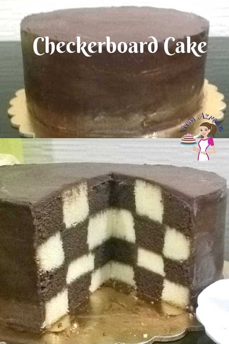 A Checkerboard Cake can be a fun and surprisingly easy cake to make for any occasion; especially kids birthday celebrations. Weather you make it just black and white or in rainbow colors the is one cake that's bound to get every one talking.
