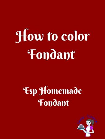 How to color Homemade Fondant – Tips and Tricks