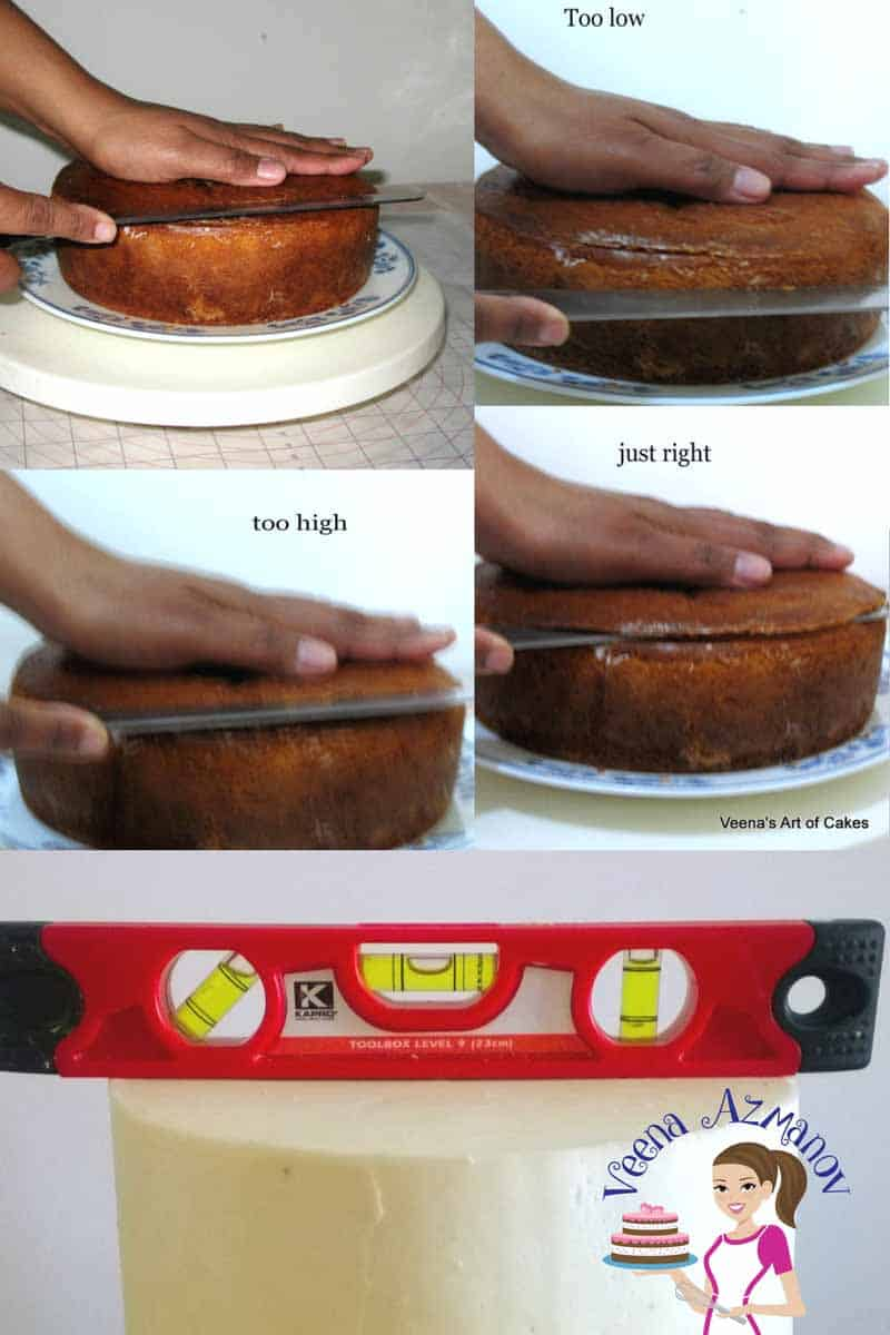 The secret to making a perfectly decorated cake is all in the basics. Once you've mastered the art of how to level torte fill a cake perfectly the rest is easy peasy. I share with you a few easy simple and proven tips and tricks that will help you master the basics effortlessly.